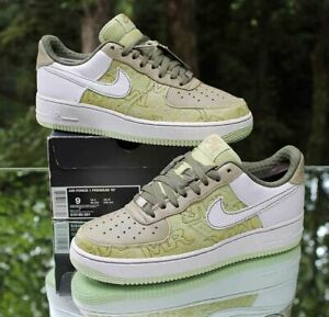 Nike Air Force 1 '07 Women's Size 10.5 Premium Pistachio White 315186-311
