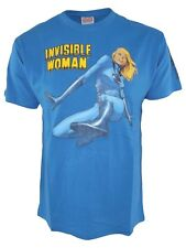 hobby&work tshirt uomo blu official product marvel invisible woman taglia large