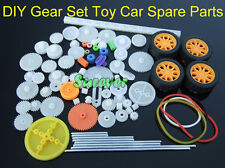 DIY 4WD RC Car Model Spare Parts Gears/Axles/Belts/Worm/ Tire/Rack/Crown Gear