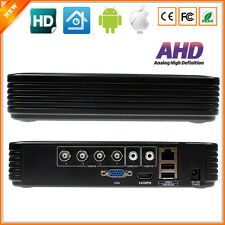 4 Channel AHD DVR Surveillance Security CCTV Recorder DVR 4CH AHDM 720P Hybrid