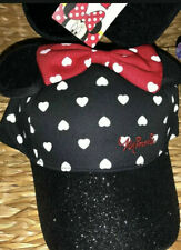Primark OFFICIAL Disney MINNIE MOUSE Baseball Cap Hat Red Polka Bow 4-7