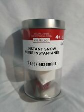Unopened Creatology Instant Snow Christmas Holiday Diy Home Decor Kit