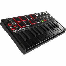 Akai Mpk Mini Mkii 25-Key Usb Midi Keyboard Controller Black Limited Edition