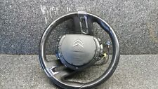 CITROËN C4 PICASSO 2006-11 MULTIFUNCTION LEATHER STEERING WHEEL WITH AIRBAG #N1B