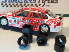 8 tyres URETHANE  Opel Vectra Vauxhall Hornby SCALEXTRIC - Au