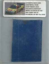CASEY MEARS NASCAR RACE USED SHEET METAL PIECE 2008 RICHMOND KELLOGGS CAR N-27
