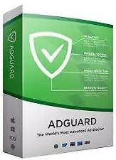 Adguard Premium 3 any devices Windows/MAC/ANDROID/iOS,Original One Year License