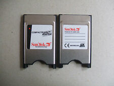 Sandisk Mercedes  PCMCIA Compact Flash Memory Card Reader Adapter (UK Stock)