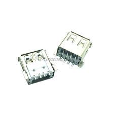 New 20PCS SMD Female USB socket USB-A type connector female