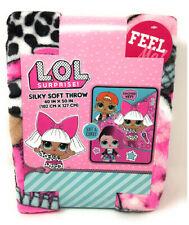 "New L.O.L. Surprise! Silky Soft Throw 40"" x 50""  Super Comfy & Soft LOL"