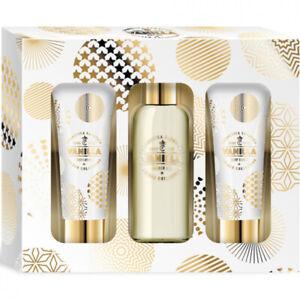 Geschenkset Gold-Vanilla 2-teilig l ,Bodylotion,Peeling