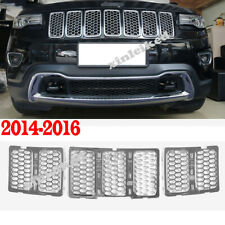 Honeycomb Front Grille Car Grill Mesh Inserts For Jeep Grand Cherokee 2014-16