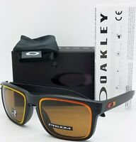NEW Oakley Holbrook sunglasses Matte Black Prizm Bronze 9244-38 AUTHENTIC Asian