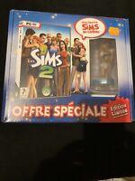🤩 coffret collector neuf les sims 2 pc blister fr edition figurine numerotée