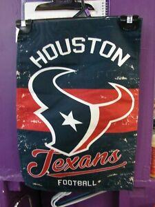 Houston Texans Garden Flag 2 Sided Outdoor Window Yard Banner New