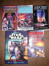 Lot of 8  Science Fiction & Star Wars Novels, Simon R. Green and S. M. Stirling