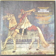 SIBELIUS: Kullervo & Incidental Music to Strindberg's...-M1971 2LP BOX 1ST REC