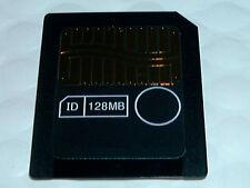 2x LOT 128MB 3.3v SMARTMEDIA CARD SM 128 MB 3 VOLT SMART MEDIA MEMORY FLASH CARD