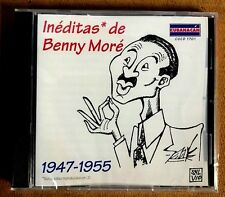 BENNY MORE - INEDITAS - 1947-1955 - CD / LEER DESCRIPCION ANTES DE COMPRAR