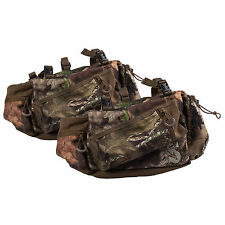 Summit Deluxe Mossy Oak Camo Tree Stand Hunting Gear Storage Side Bag, Pair