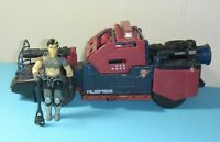 1986 GI Joe Cobra Dreadnok Car Thunder Machine w/ Thrasher Figure *Near Complete