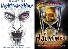 HAUNTING HOUR Hit TV Series on THE HUB by RL Stine PAPERBACK Book Set 1-2