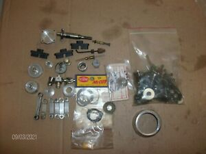 MESS of   MODEL AIRPLANE, CAR, BOAT ENGINE PARTS & Hardware