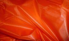 5m Army Parachute Ripstop Nylon Orange Kite Cloth Fabric Material Strong Ro95