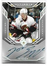 2004-05 Ultimate Signatures JASON SPEZZA On Card Autograph Ottawa Senators