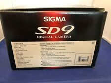 Sigma Sd-9 Digital Camera In box complete with accessories, Unused Nos Look!
