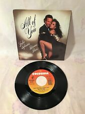 JULIO IGLESIAS & DIANA ROSS: ALL OF YOU / THE LAST TIME~#38-04507 W/PIC. SL ~ EX