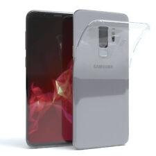 Ultra Slim Cover für Galaxy S9 Plus Case Silikon Hülle Transparent Transparent