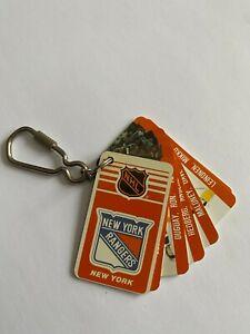1983New York Rangers NHL NHLPA Hockey Collection Vintage Rare Team Key Chain