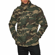 Superdry Classic Rookie Homme Veste - Traditional Camo Toutes Tailles