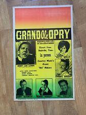Vintage Jerry Lee Lewis Concert Poster