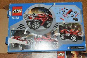 Lego Red Beast 8378 mit Originalkarton ferngesteuertes Auto