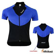 Didoo Hombre ciclismo manga corta Camisetas verano bicicleta carreras deportes
