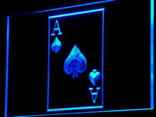 i846-b Ace Poker Casino Display Game NR Neon Light Sign