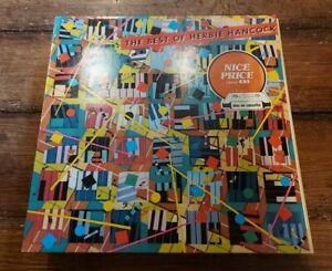HERBIE HANCOCK- THE BEST OF HERBIE HANCOCK LP CBS 32526 REISSUE VG+!