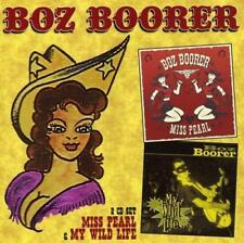 BOZ BOORER - MISS PEARL & MY WILD LIFE 2 Albums 2CDs (New & Sealed) Rockabilly