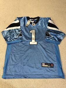 Carolina Panthers Cam Newton Jersey Mens Size 52 NFL Discontinued Reebok New Tag