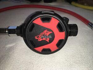 HOG Classic 2 Regulator With Red Miflex Extreme Hose