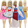 5x Set Fashion Mini Dress Outfit Party Gown Ball Clothes For 11.5 inch Girl Doll