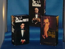 AL PACINO ROBERT DENIRO The Godfather Parts 1, 2 and 3 on 6 VHS Set