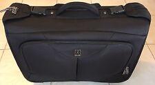 "TravelPro 22"" Compact Horizontal Wheeled Black Garment Bag Carryon Luggage Bag"
