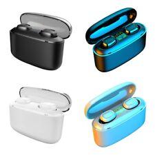Bluetooth 5.0 Wireless Earbuds Headset Built-In Mic HD Call Earphone Headphones
