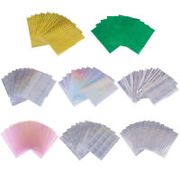 10pcs DIY Fishing Lure Sticker Holographic Adhesive Flash Tape for Fly Tying