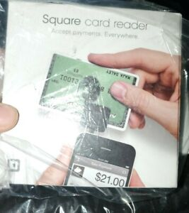 Square Credit Card Reader for Apple and Android Phones