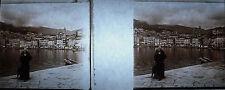 Photographie Vue du port de Bastia 1911 Corse Corsica Église Saint-Jean-Baptiste