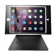 Anti-Theft Security Kiosk POS Stand Holder Enclosure w/ Lock & Key For iPad Mini